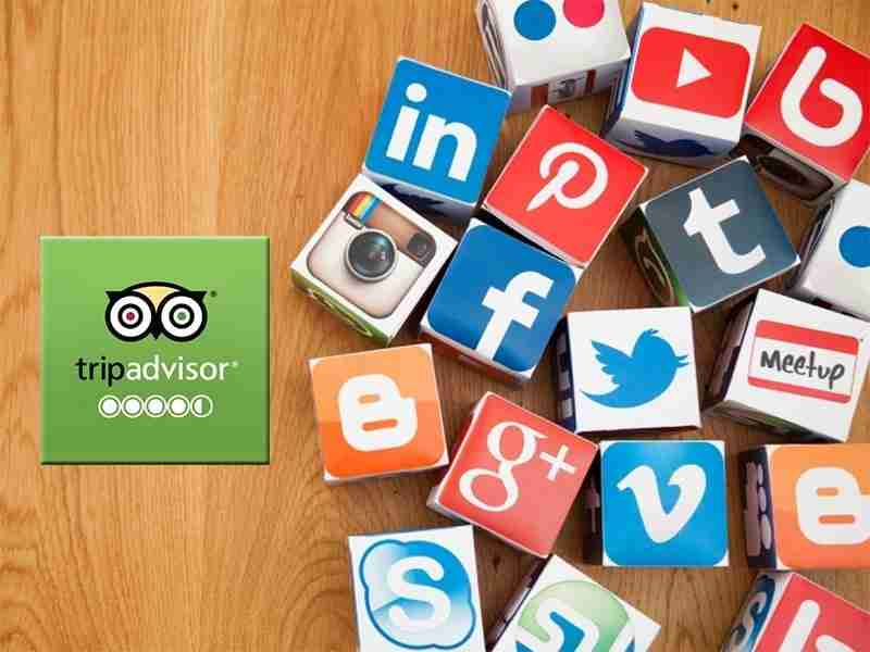 Diseño de páginas web para restaurantes. Redes Sociales