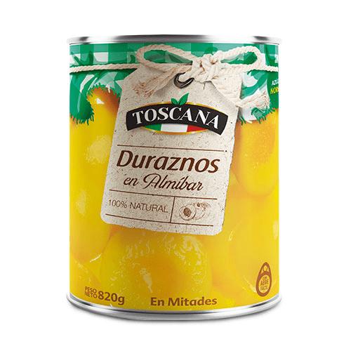 Toscana Duraznos en almíbar | Sucesores | Proveedores de duraznos en almíbar para hoteles y restaurantes | Hostelería Ecuador