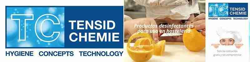 Tensid Chemie | Proveedores de limpieza para hoteles | Hostelería Ecuador