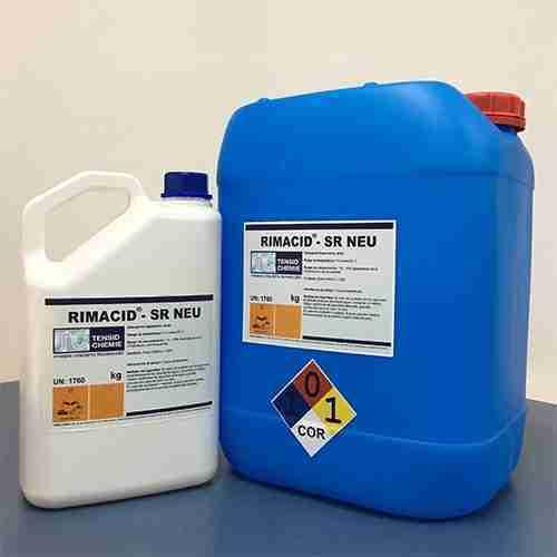 Detergente ácido antisarro
